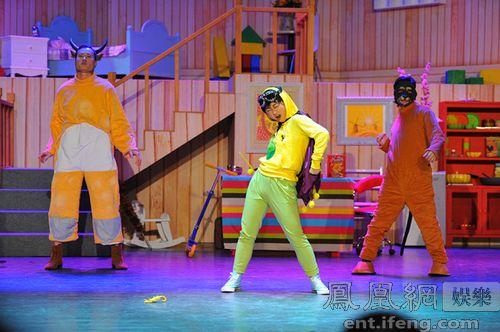 """演出  5月17日,由东方桥文化旗下的儿童教育戏剧品牌""""故事屋""""打造的儿"""