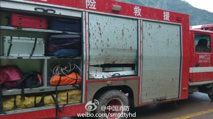 高清图—重庆19岁消防员王强救援时被石头砸中头部殉职