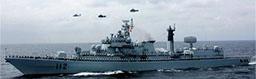 中俄首次东海军演全记录