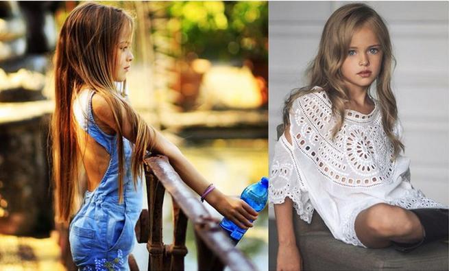 俄罗斯9岁模特