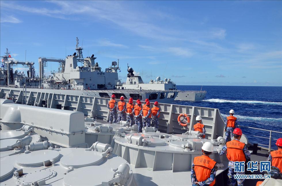 中国舰艇6天航行2100海里 抵达关岛与美军回合(1/9) -  东方.旭 - 东方.旭的博客