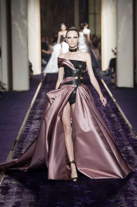优雅女战士 Atelier Versace2014秋冬高订系列发布