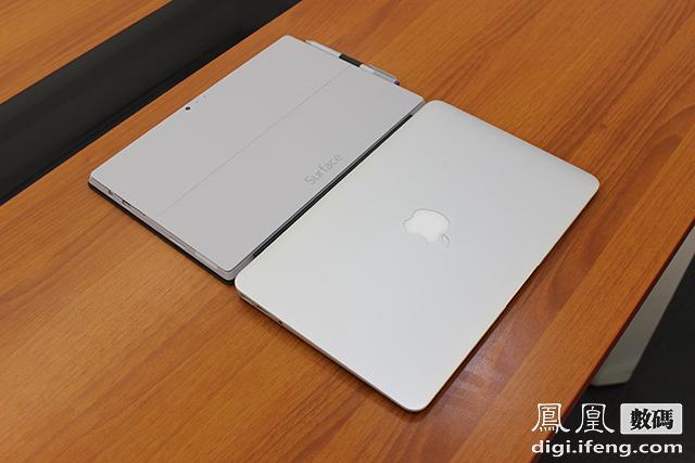 微软PK苹果:Surface Pro 3对比Macbook Air 微