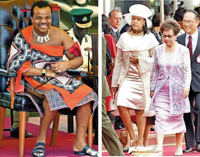 非洲国王奢靡媲美沙特国王:10万处女中选王妃 - 雷石梦 - 雷石梦(观新闻)
