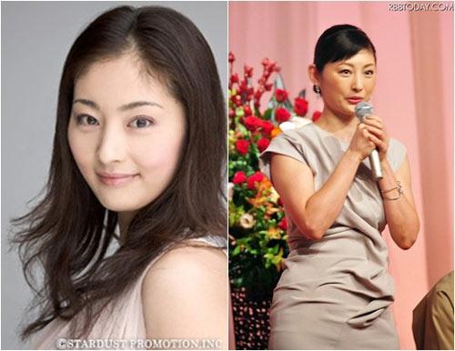 日本42岁玉女常盘贵子发福 瓜子脸变月饼脸