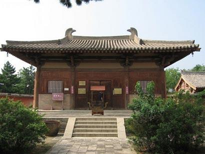 寺大佛殿,我国现存最古老的木构建筑.(图片来源:资料图片)-