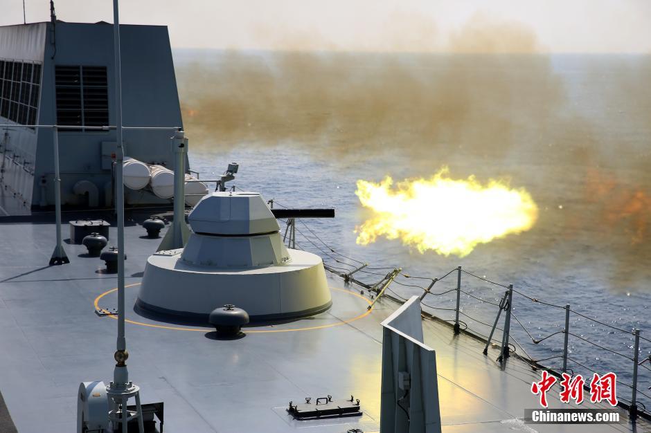 中国护航编队假想遭敌机突袭 俄制630炮凶猛开火 - 野郎中 - 太和堂