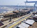 江南造船厂3号船坞造新航母 完工或需四年