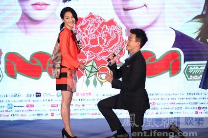 《早更女友》首映 佟大为:拍吻戏我比周迅还紧张(图)