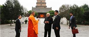 印度总理莫迪访华