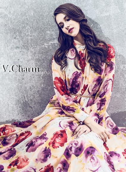 新锐品牌V.Charm旖旎绽放