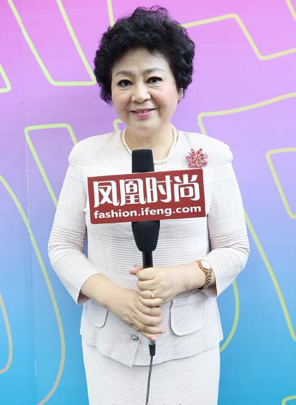 深圳服装协会会长沈永芳