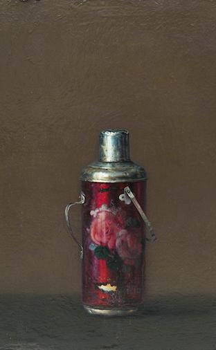 油画:《暖瓶-50》