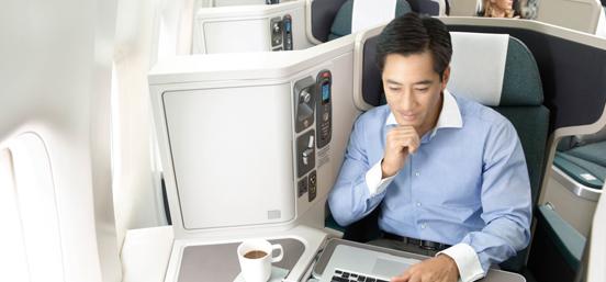 国泰航空开启6大奢华服务 长途旅行也要高大上