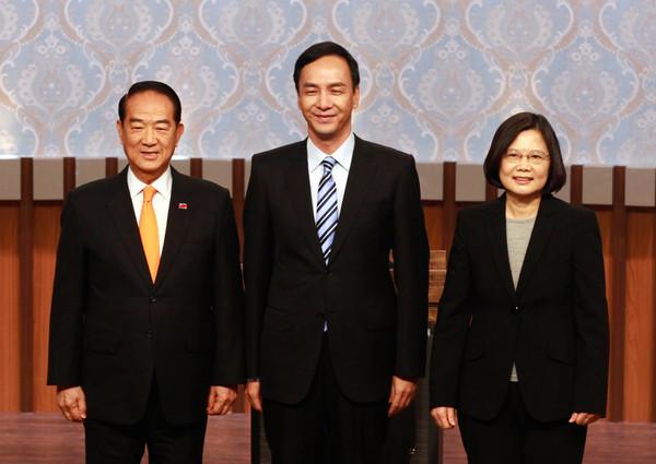 """台湾大选辩论:3人炮火猛烈 盘点辩论""""经典语录"""