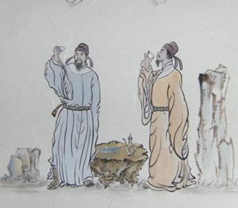 李白与杜甫 资料图-为什么老是让 李杜 争高低