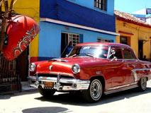 古巴老爷车:至今仍原装上路