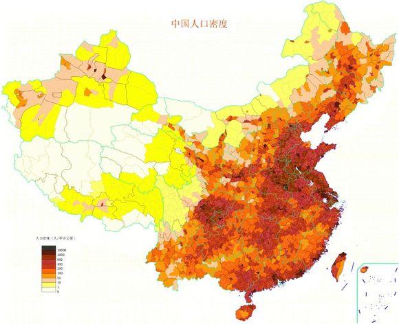 中国大陆总人口达13.6亿人 男性比女性多3376万