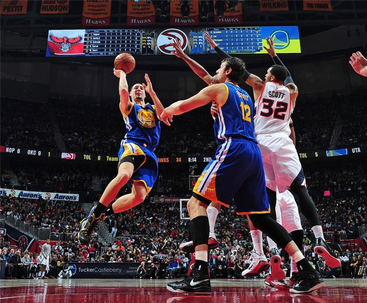 NBA 勇士116 124老鹰