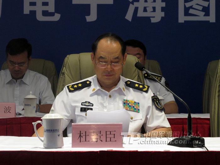 海军将领吴胜利,田中,杜景臣等今赴清华大学调研