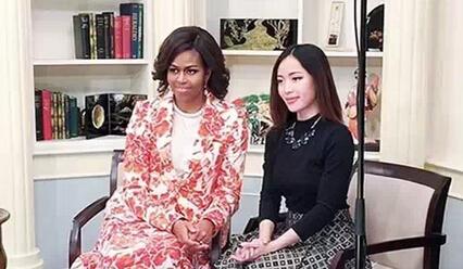 美妆达人陪奥巴马老婆逛日本 曾登福布斯榜