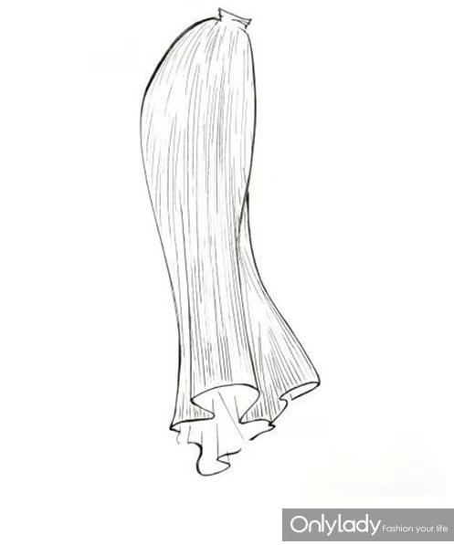 简笔画衣服裙子步骤