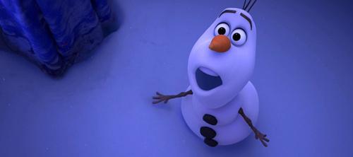 《冰雪奇缘》中的雪人