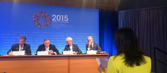 IMF记者招待会