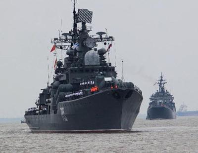 中俄突进地中海军演 官员高调放话