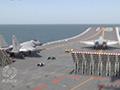 罕见实拍:歼-15双机从航母上相继起飞
