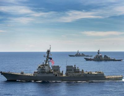 中国大使回击美军闯南海岛礁:炫耀武力能解决吗