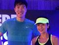 刘翔被传婚变后首露面 与陈奕迅妻子合影
