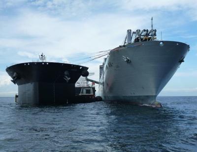 中国疑似首艘半潜舰敏感期曝光 用于大规模登陆