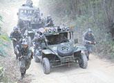 中国边境演习警告谁?