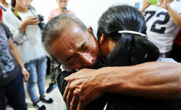 智障女子被拐11年后一眼认出父亲
