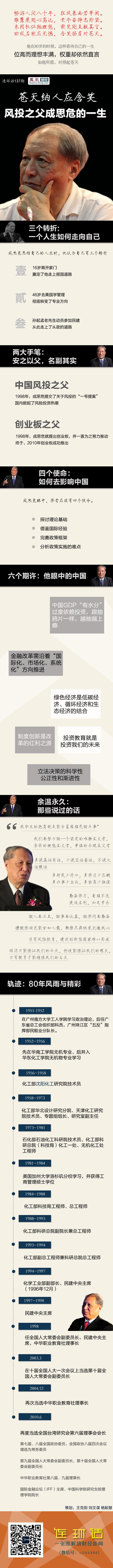 成思危逝世 曾预言房地产20年支柱地位 - li-han163 - 李 晗
