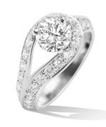 谈有品位的爱情 10枚最华美的订婚戒指浪漫精选