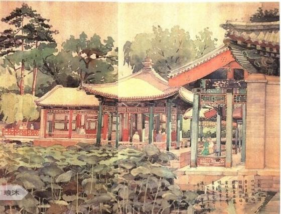 梁思成的建筑手绘稿!-虹雨水塘-漳州论坛虹雨家园 www