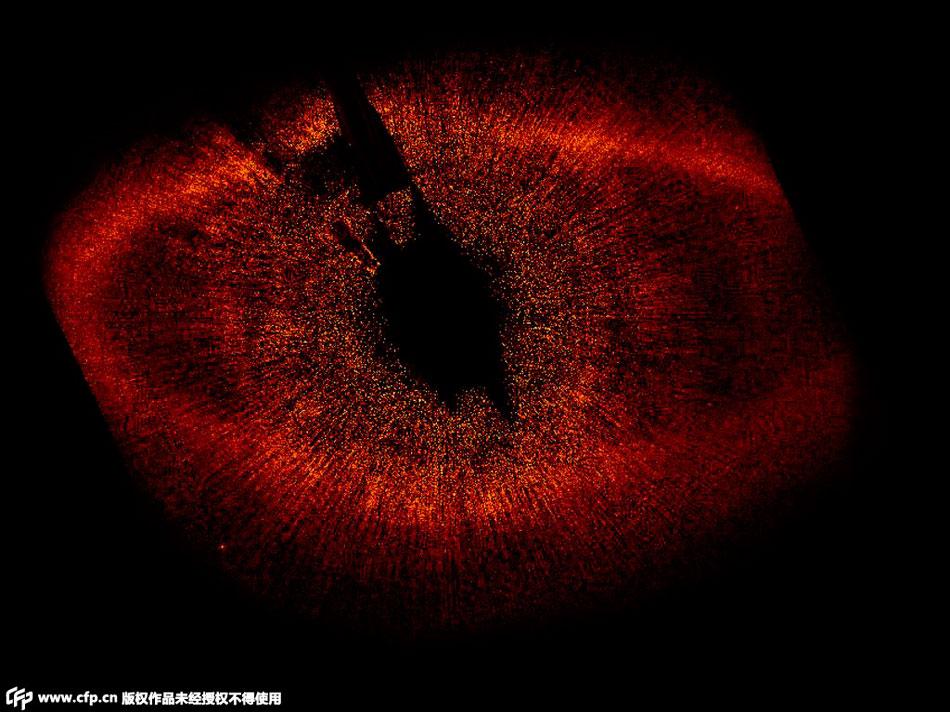 谷神星位于木星和火星之间的小行星带