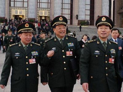 中国十余名军队高级将领履新 涉及三个兵种