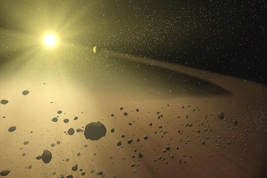 冥王星质量只有其轨道区域其它天体质量总和的百分之七。相比之下,地球质量是其轨道区域其它天体质量总和的 170万倍。任何(符合前两个)不符合前述第3个要求的天体被认为是矮行星。因此,冥王星是矮行星。