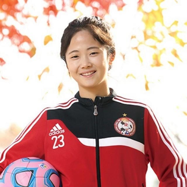 韩国女足小可爱被韩媒热议 娇小玲珑清纯动人