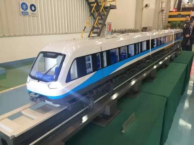 长沙磁悬浮列车今年底运(图)