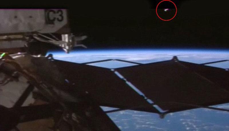 相关【国际空间站再次惊现ufo!