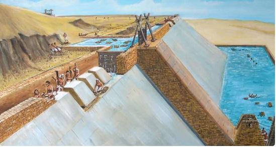 聚水成塔:古埃及人这样造金字塔?