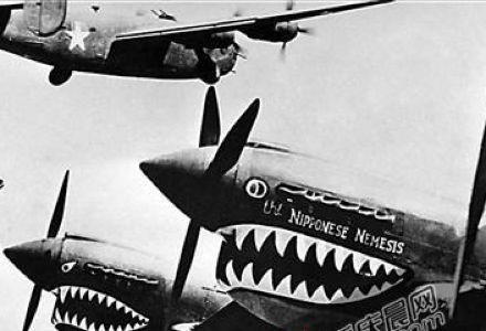 """""""飞虎队""""命名由来:因中国内地民众未见过鲨鱼"""