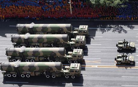 揭秘二炮抗战阅兵阵容 导弹武器装备规模史无前例
