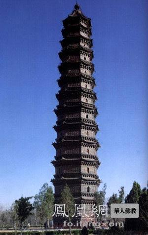 中国十大名塔 除了雷峰塔你还知道几个?