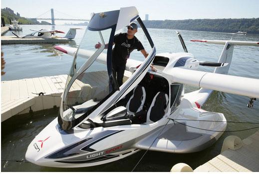 新型私人水上飞机 不知道驾照要考到科目几