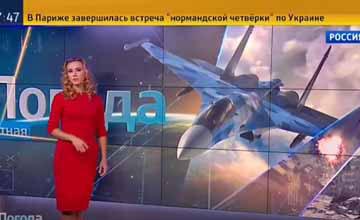 俄美女天气预报员:叙利亚当前天气非常适合轰炸